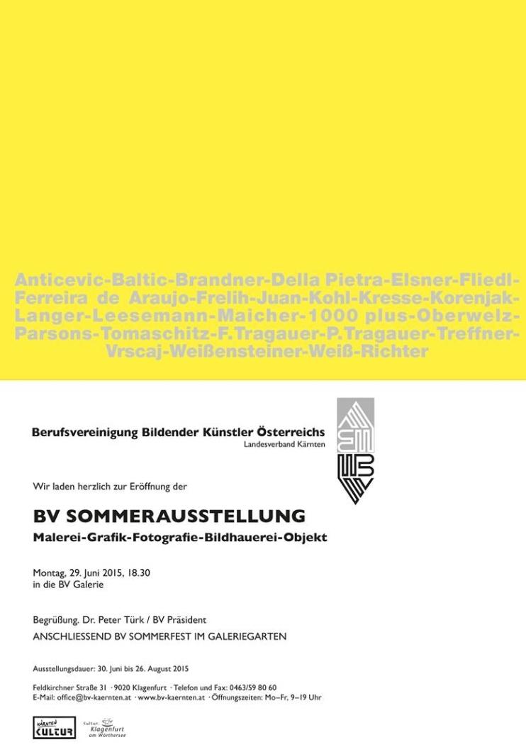 BV-Sommerausstellung