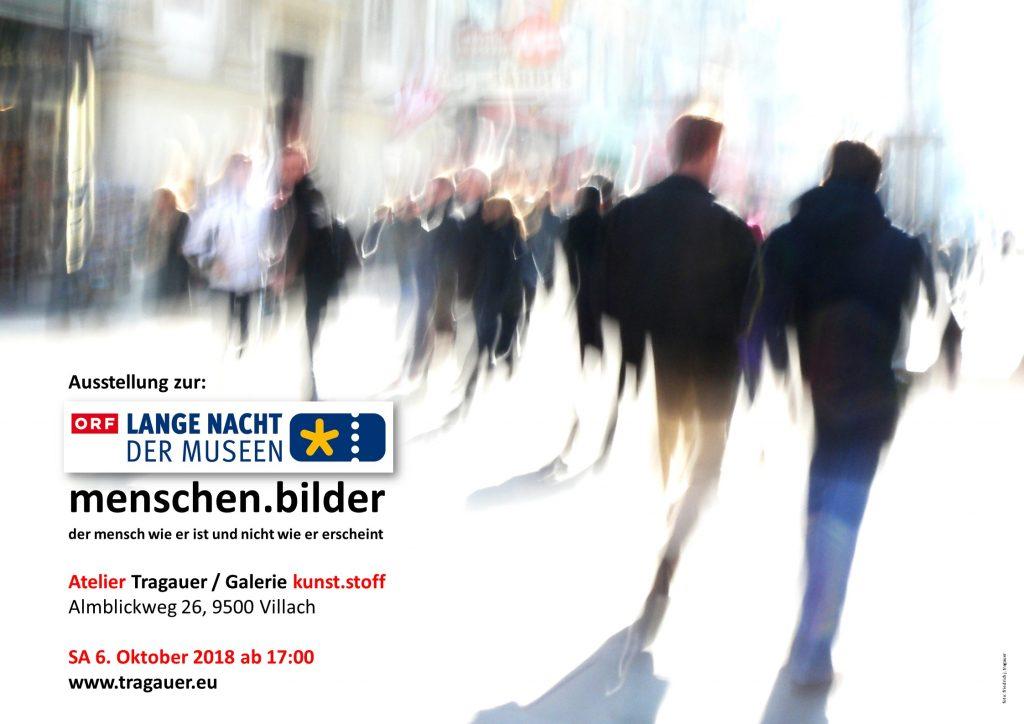 Lange Nacht der Museen 2018 im Atelier Tragauer / Galerie kunst.stoff