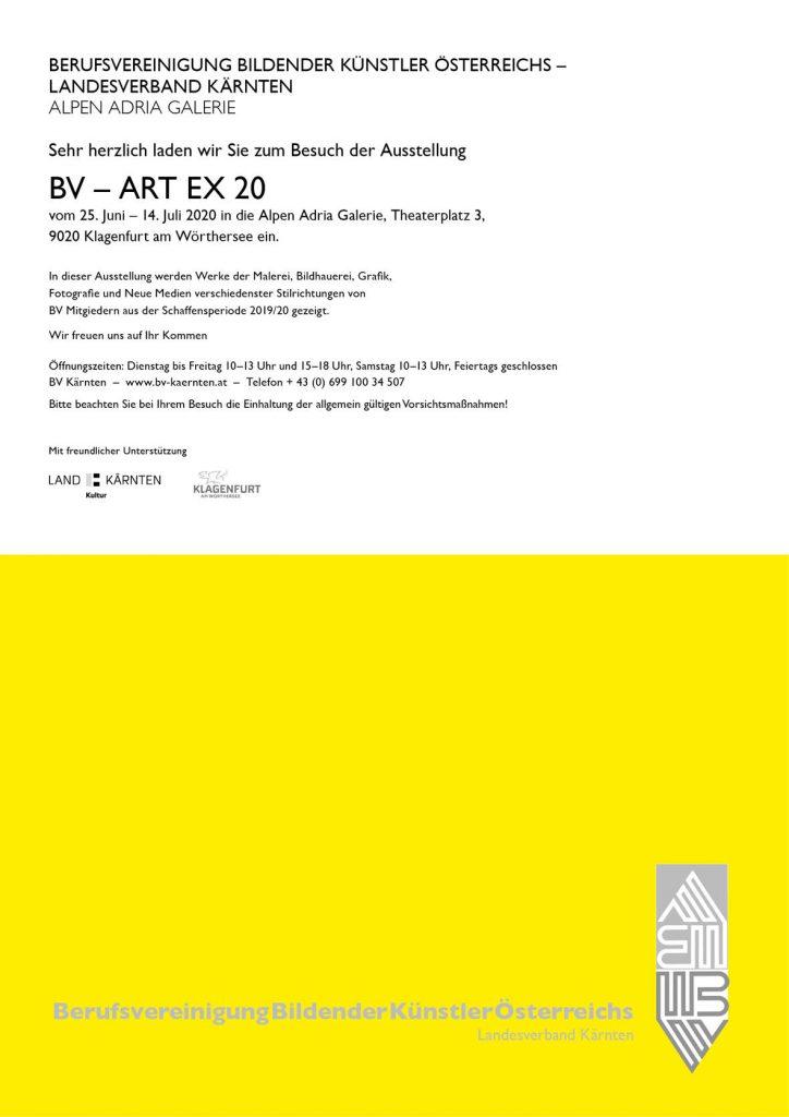 Einladung zur BV_ART EX 20