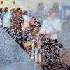 gehen Fotoübermalung Petra Tragauer