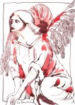 wachender engel